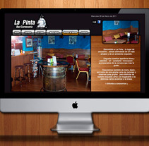 La Pinta website. A Design, and Software Development project by Eduardo Bustamante         - 06.04.2012