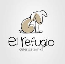 Logo Protectora El Refugio. Un proyecto de  de Alvaro Portela Martínez - 12.04.2012