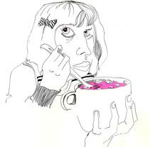 face to face. Un proyecto de Ilustración de Aurea Aburto         - 23.04.2012