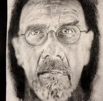 retratos varios. A Design, Illustration, and UI / UX project by Jonas Canales Godoy         - 07.05.2012