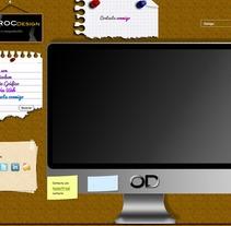 Diseño web . Um projeto de Design, Desenvolvimento de software e Informática de Oscar M. Rodríguez Collazo - 12-05-2012