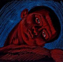 Hilo Rojo/videoproyección. Un proyecto de Motion Graphics, Cine, vídeo y televisión de Jaime García Mendoza - 20-05-2012