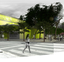 PLAZA BARÓ DE VIVER, BARCELONA - ESPAÑA -. A Design, Installations, and 3D project by Nelson Zambrano         - 21.05.2012
