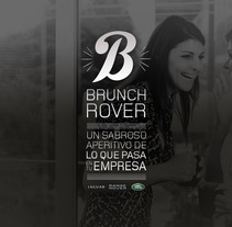 BRUNCH ROVER. A Design, and Advertising project by Nacho Gallego         - 13.06.2012