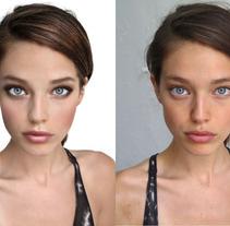Maquillaje digital. A Photograph project by Carmen Fernández          - 10.06.2012