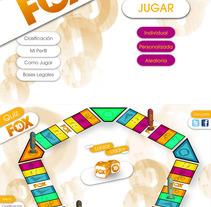 Quiz Fox 10º Aniversario. Um projeto de Design de Alex Blanco Asencio - 12-02-2013