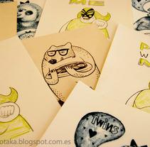 Litografias. Un proyecto de Ilustración de Jotaká  - 13-06-2012