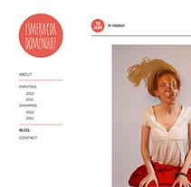 Esmeralda Dominguez. Um projeto de Design e Desenvolvimento de software de asier Delgado         - 18.06.2012