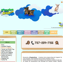 Web Ipuppies Shop. A Design, Illustration, and Software Development project by Ruben  Vargas Martin - 18-06-2012
