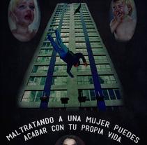 Campaña encontra al maltrato de la mujer.. A Design, Illustration, Advertising, and Photograph project by Ivan Rivera         - 19.06.2012