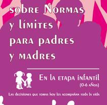 Tríptico Seminario para Padres. Um projeto de  de Jesús Martínez         - 28.06.2012