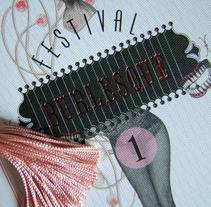 1er Festival Burlesque-Madrid. A Design&Illustration project by lorena  madrazo - 28-06-2012
