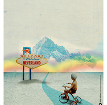 Bienvenidos a Neverland. A Illustration project by Pedro  Peinado - 09-07-2012