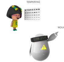 Personajes. A 3D project by Anita Aísa Pardo - 10-07-2012