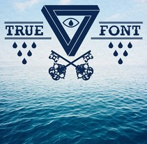True Font. Un proyecto de Diseño e Ilustración de Rubén Martínez González - 11-07-2012