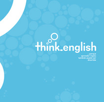Think English. A Design project by duocreativos         - 13.07.2012