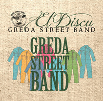 """El Discu"" Greda StreetBand. A Design, Illustration, Music, Audio, Film, Video, and TV project by Pau Avila Otero         - 14.07.2012"