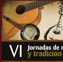 Jornadas de Música Tradicional. Um projeto de Design, Publicidade e Desenvolvimento de software de Estudio de Diseño y Publicidad         - 17.07.2012