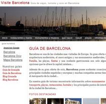 Guía de viajes y turismo en Barcelona. A Design, Software Development, Photograph&IT project by Pablo Formoso         - 21.07.2012
