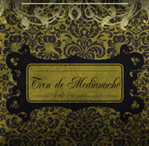 ULTIMO TREN HACIA OSLO - CD | tren de medianoche. Un proyecto de Diseño, Ilustración, Publicidad, Música, Audio y Fotografía de alejandro escrich - 25-07-2012