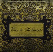ULTIMO TREN HACIA OSLO - CD | tren de medianoche. A Design, Illustration, Advertising, Music, Audio, and Photograph project by alejandro escrich         - 25.07.2012