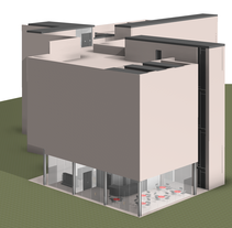 Centro de Arte Contemporáneo. A Design, UI / UX, and 3D project by Fernando Rosa Belmonte         - 09.08.2012