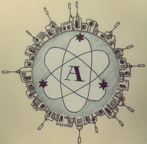 AstroLabs. A Illustration project by Pelayo Ayuso         - 13.08.2012