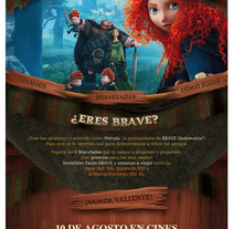Brave: Indomable. A Advertising, and Software Development project by Javier Fernández Molina - Sep 26 2012 04:16 PM