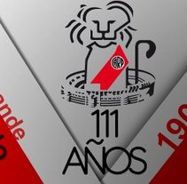 111 Años - River Plate.. A Design project by Rodolfo Mastroiacovo         - 30.08.2012