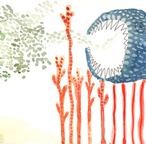 oceanic forest. A Design, Illustration, and Advertising project by Laia Jou         - 30.08.2012