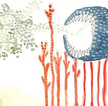 oceanic forest. Un proyecto de Diseño, Ilustración y Publicidad de Laia Jou - 30-08-2012
