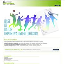 Derecho Deportivo. Un proyecto de Desarrollo de software, Publicidad y Diseño de Javier Fernández Molina - Sábado, 01 de septiembre de 2012 18:54:01 +0200