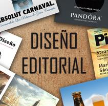 Diseño editorial. Un proyecto de Diseño de Aythami Santana Montesdeoca         - 05.09.2012