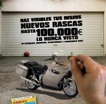 Nuevos Rascas de la ONCE. Un proyecto de Diseño, Ilustración, Publicidad y Fotografía de Ana Alonso Diaz         - 05.09.2012