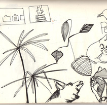 moneskine01. Um projeto de Ilustração de raquel arriola caamaño         - 18.09.2012
