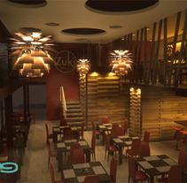 Ambientaciones 02. Um projeto de Design, Instalações e 3D de Daniela Águila - 21-09-2012