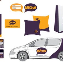 Wow Airlines - Imagen de marca. A  project by Amaya Ríos         - 27.09.2012
