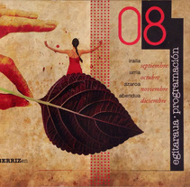 Agenda cultural - Berriz. A Design project by Nuria  - 15-10-2012