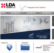 LDA Audio Tech. Un proyecto de Diseño, Desarrollo de software y UI / UX de Jaime Martínez Martín         - 17.10.2012