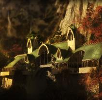 Rivendell 3D . A  project by Pablo Navarrete Guzman - 19-10-2012