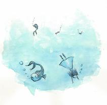 Deep Ocean Dream 01. Un proyecto de Diseño, Ilustración, Publicidad, Cine, vídeo y televisión de Maria Jesus Garcia Muñoz         - 23.10.2012