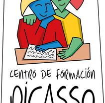 flyer cfpicasso. Un proyecto de Diseño y Publicidad de Jesús Valle Aguarod         - 26.11.2012