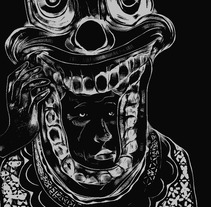 Clown Frown. A Illustration project by Sergio Galarza - 16-12-2012