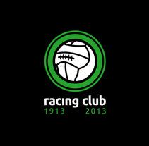 Propuesta Logotipo Centenario Racing Santander. Un proyecto de Diseño de Raul Piñeiro Alvarez         - 04.01.2013