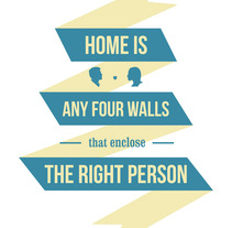 Home is.... A Design project by Sara Peláez - 27-01-2013
