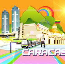 Caracas. A Design&Illustration project by Samuel Ochoa         - 01.02.2013