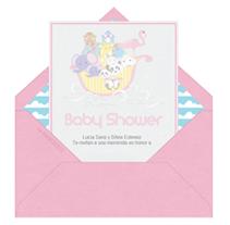 Invitaciones de Baby Shower. A Design&Illustration project by Invitaciones y tarjetas virtuales         - 14.02.2013