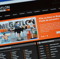 Megatlon. A Design, Software Development, UI / UX&IT project by Alexander Lima         - 21.03.2013