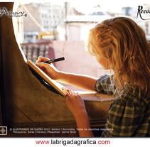 Ilustrando un sueño. Um projeto de Design, Ilustração e Fotografia de Lidia Aparicio Sales         - 27.03.2013