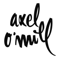 Logotipo Axel O'Mill. Un proyecto de Diseño de sonia beroiz - Martes, 02 de abril de 2013 11:09:45 +0200